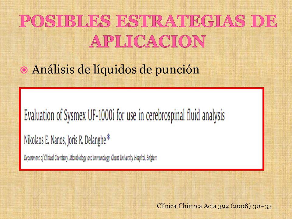 POSIBLES ESTRATEGIAS DE APLICACION