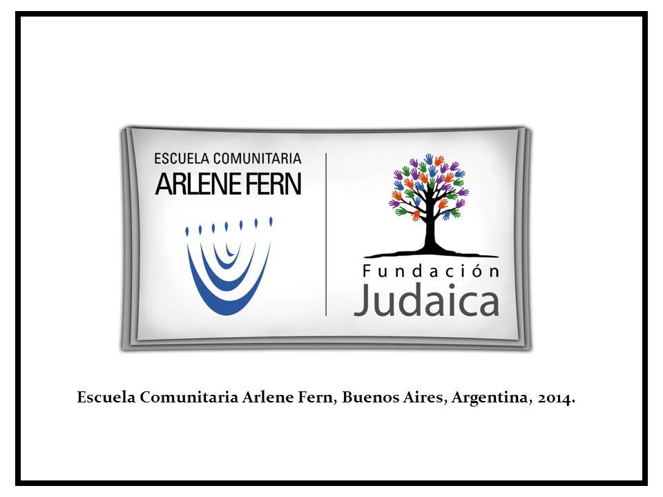 Escuela Comunitaria Arlene Fern, Buenos Aires, Argentina, 2014.