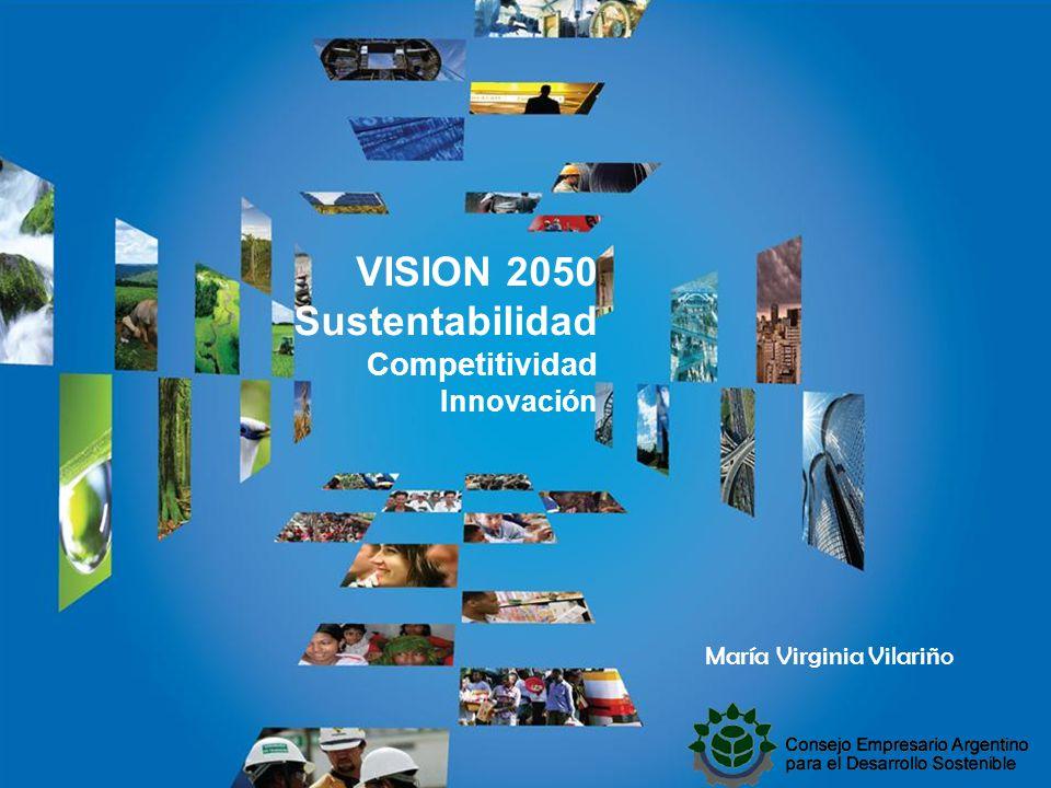 VISION 2050 Sustentabilidad Competitividad Innovación