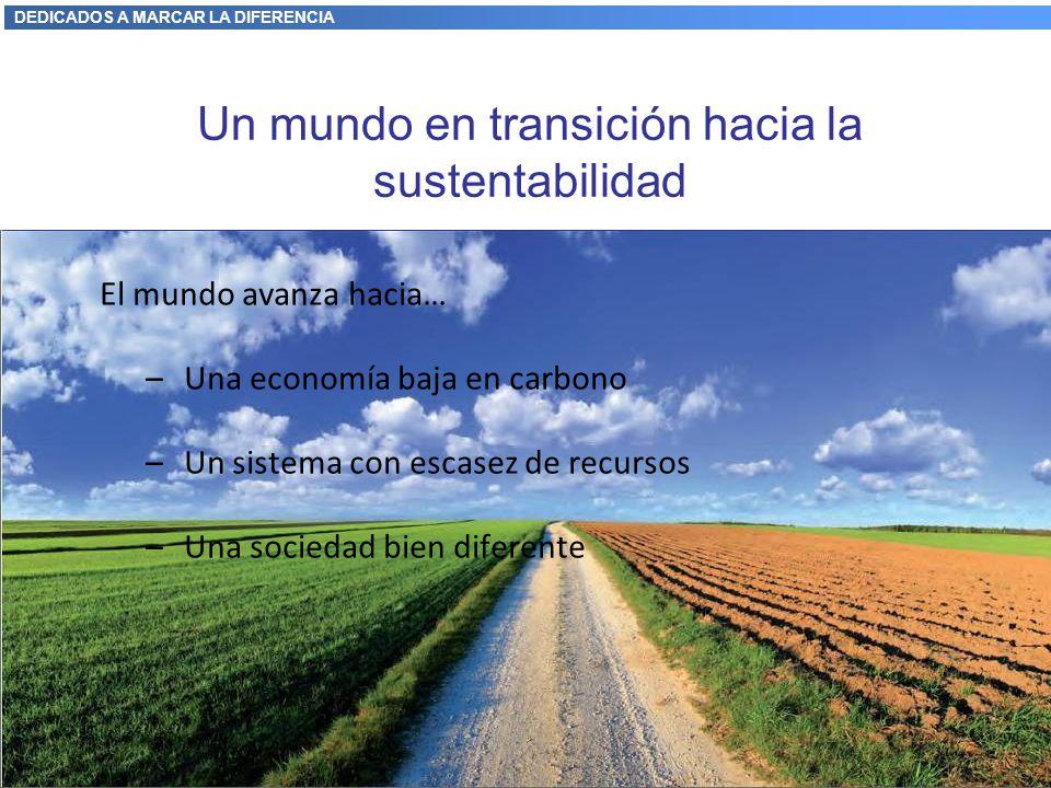 Un mundo en transición hacia la sustentabilidad