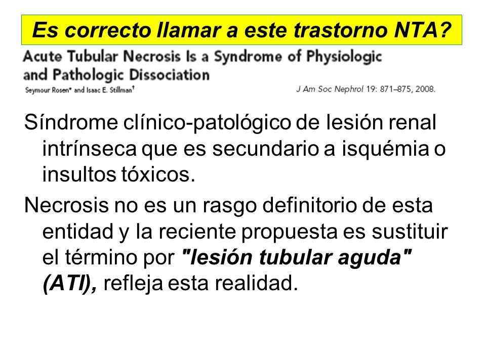 Es correcto llamar a este trastorno NTA