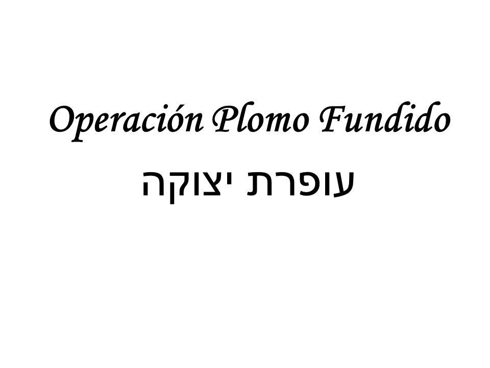 Operación Plomo Fundido