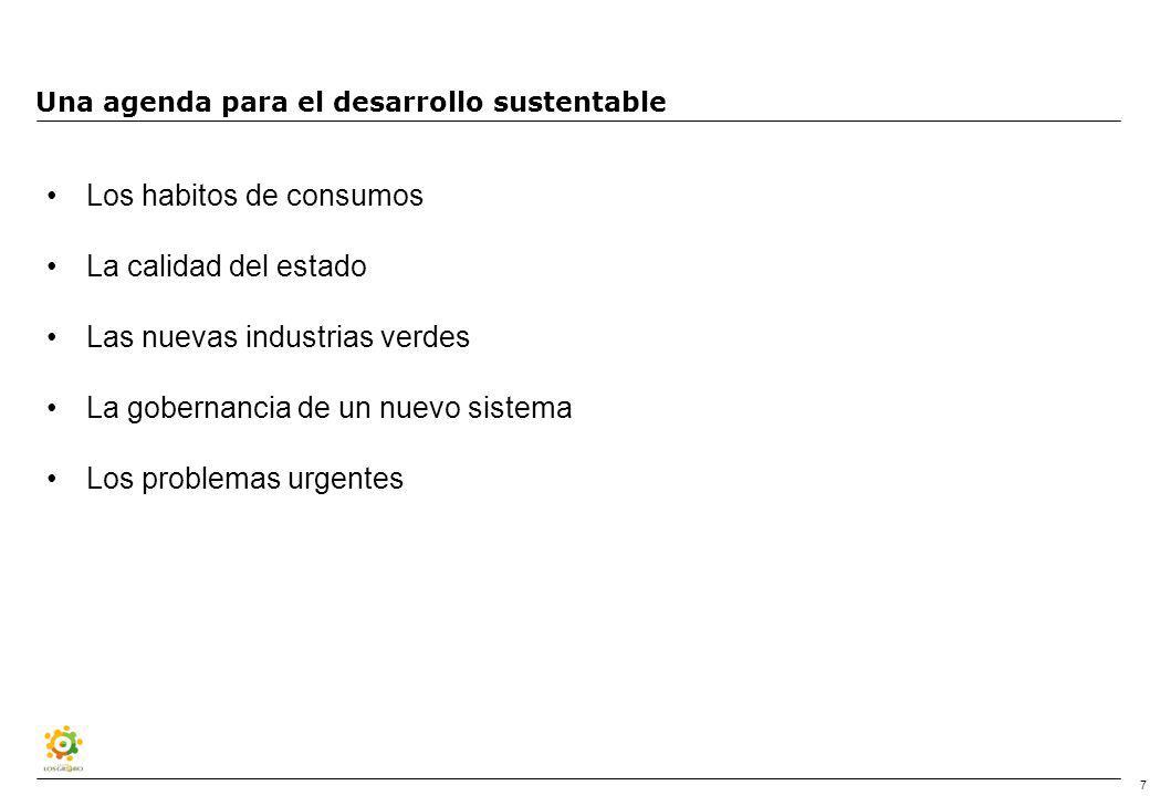 Los desafíos del SXXI Los desafíos sociales Los desafíos ambientales