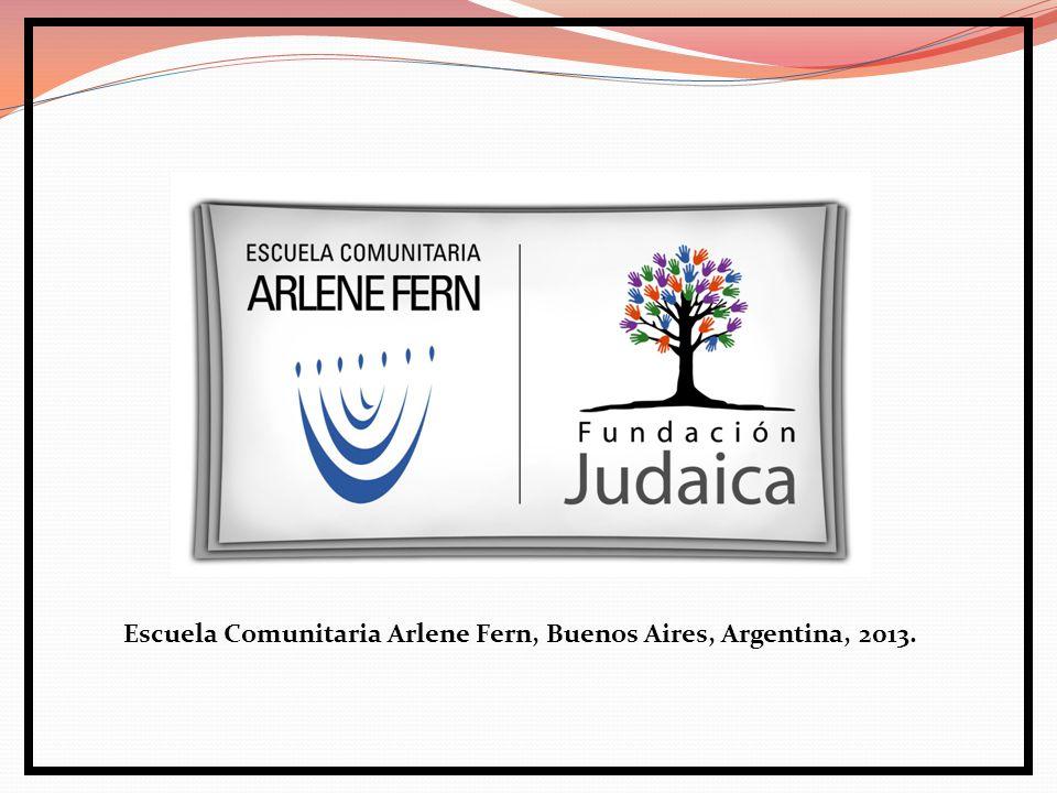 Escuela Comunitaria Arlene Fern, Buenos Aires, Argentina, 2013.