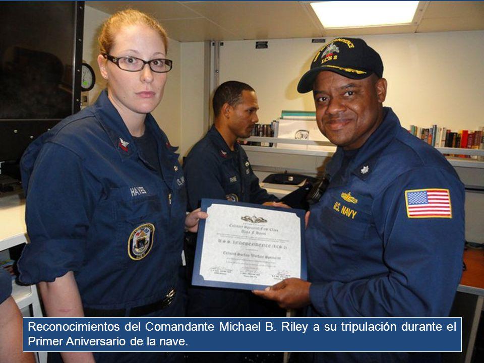 Reconocimientos del Comandante Michael B