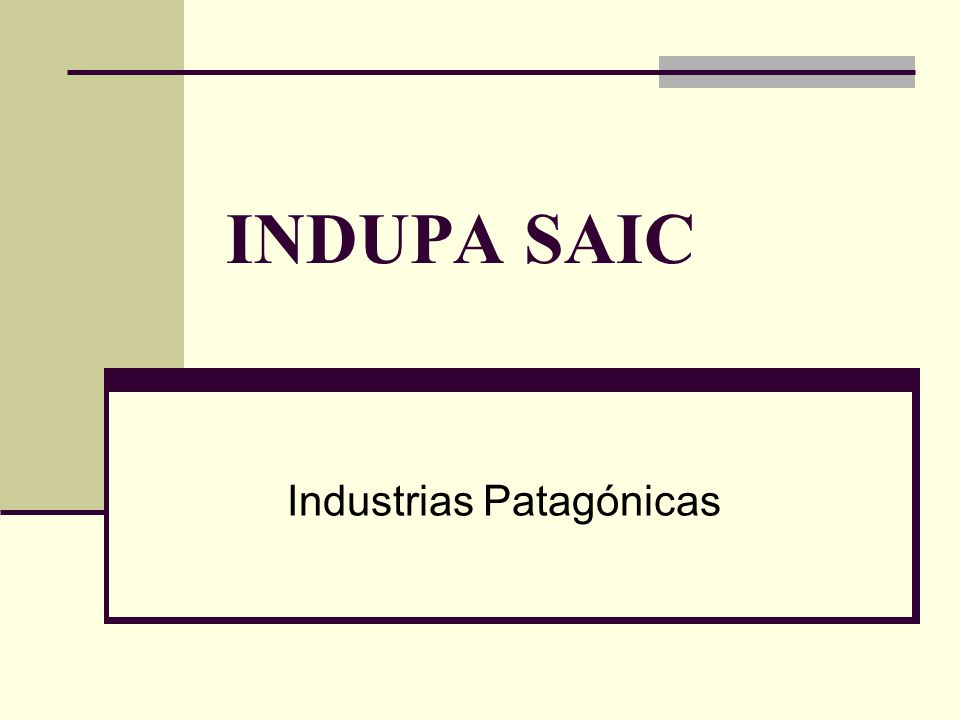 Industrias Patagónicas