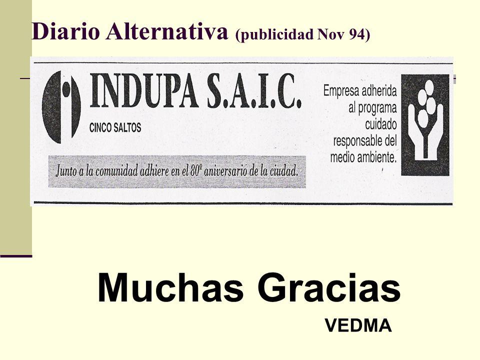Diario Alternativa (publicidad Nov 94)