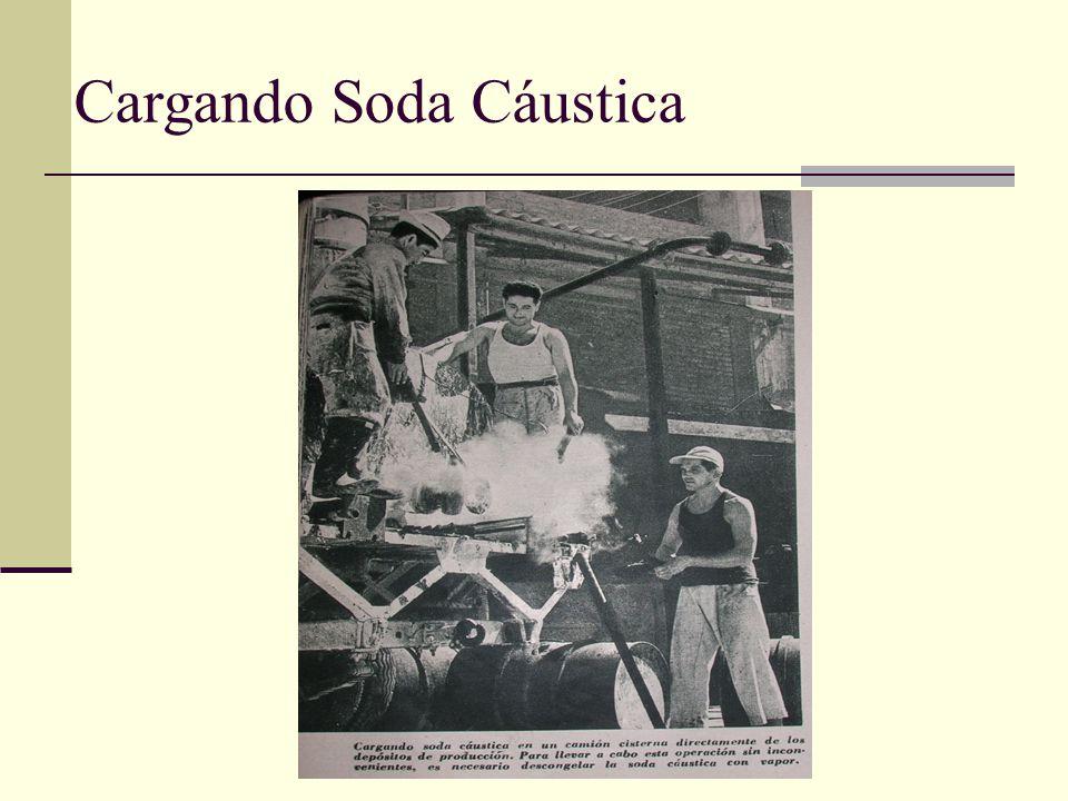 Cargando Soda Cáustica