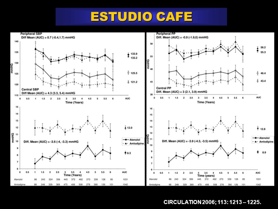ESTUDIO CAFE CIRCULATION 2006; 113: 1213 – 1225.