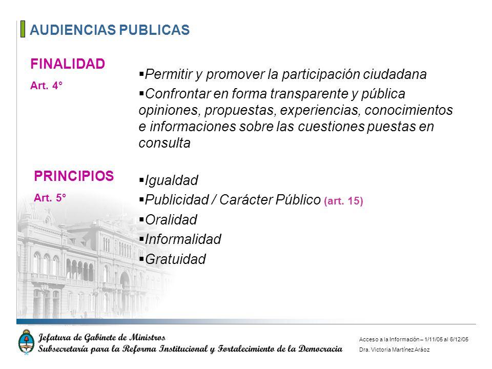 Permitir y promover la participación ciudadana