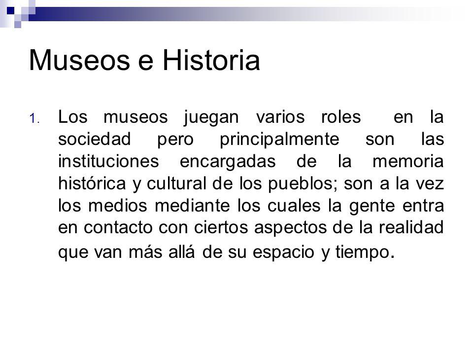 Museos e Historia