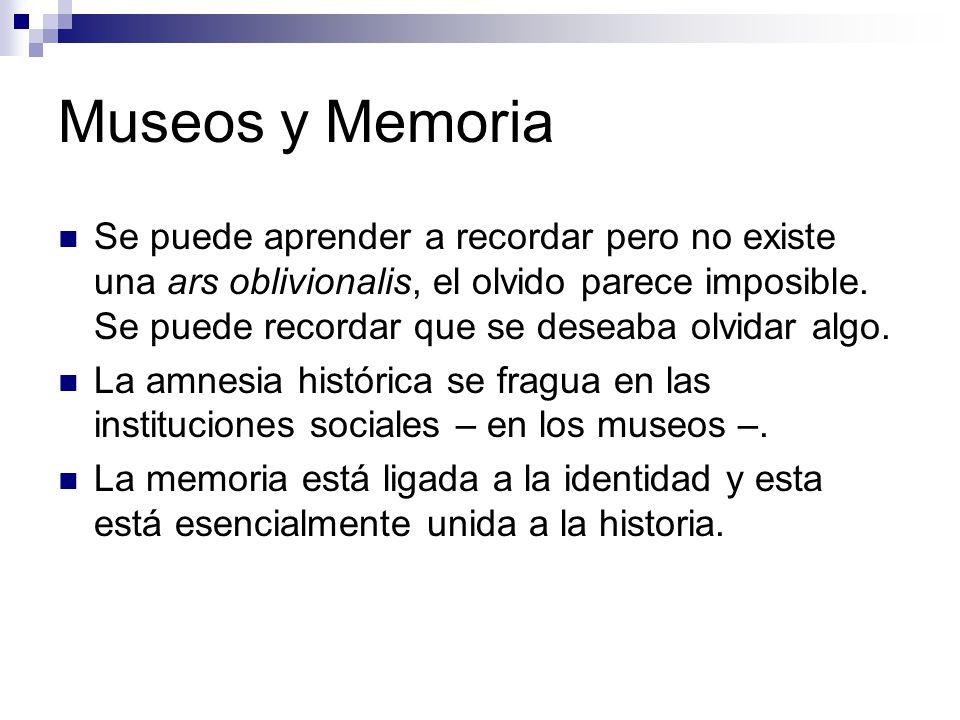 Museos y Memoria