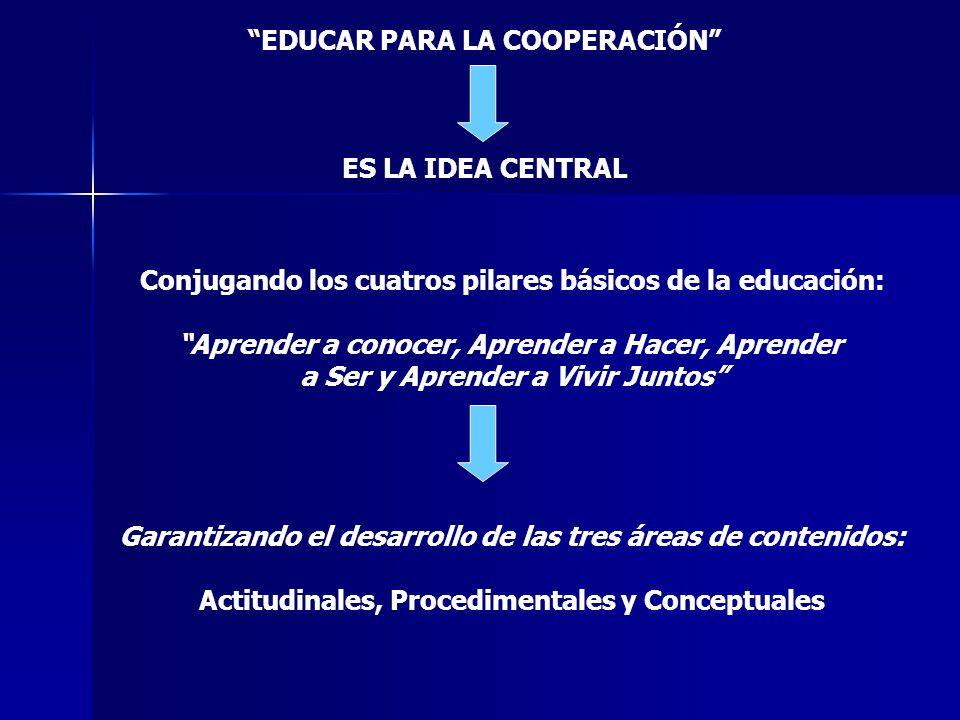 EDUCAR PARA LA COOPERACIÓN