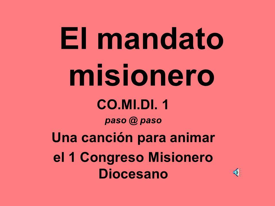 Una canción para animar el 1 Congreso Misionero Diocesano