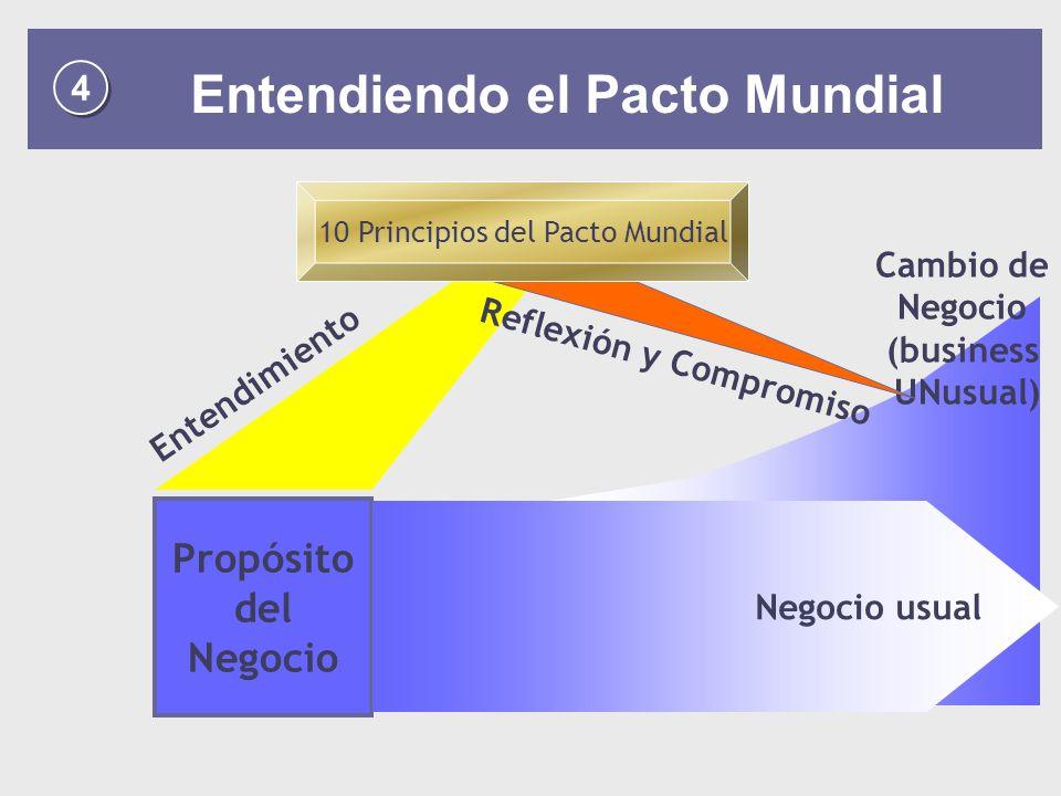 10 Principios del Pacto Mundial