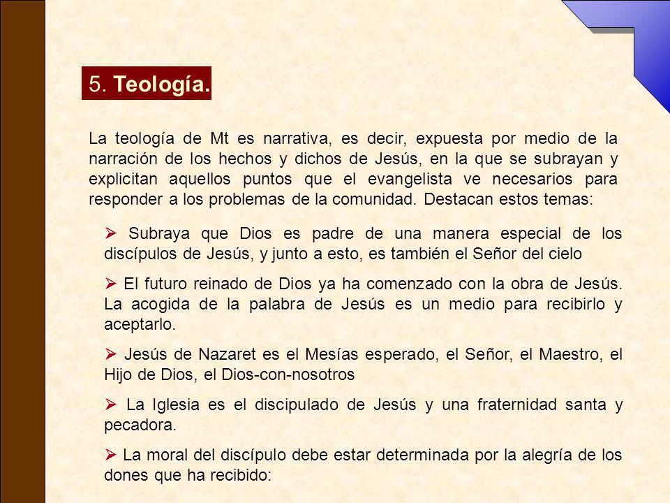 5. Teología.