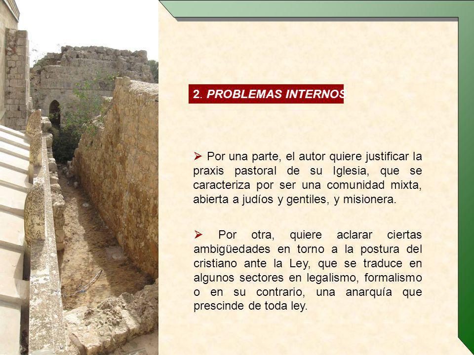2. PROBLEMAS INTERNOS.