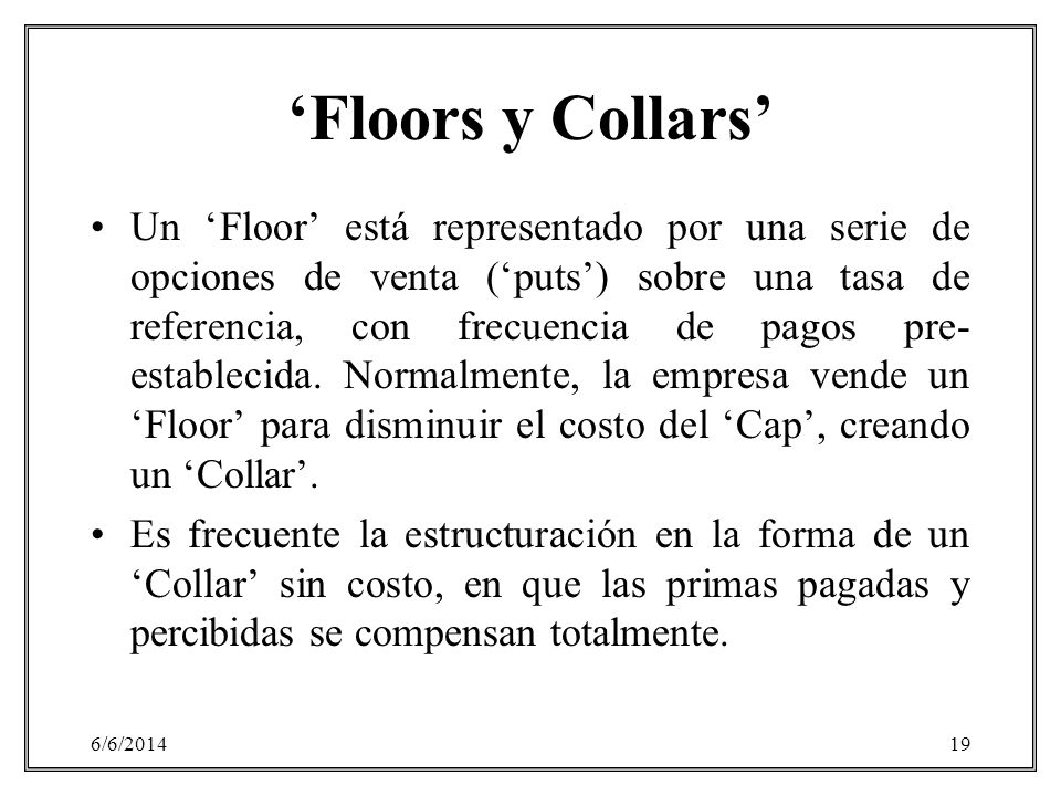 'Floors y Collars'