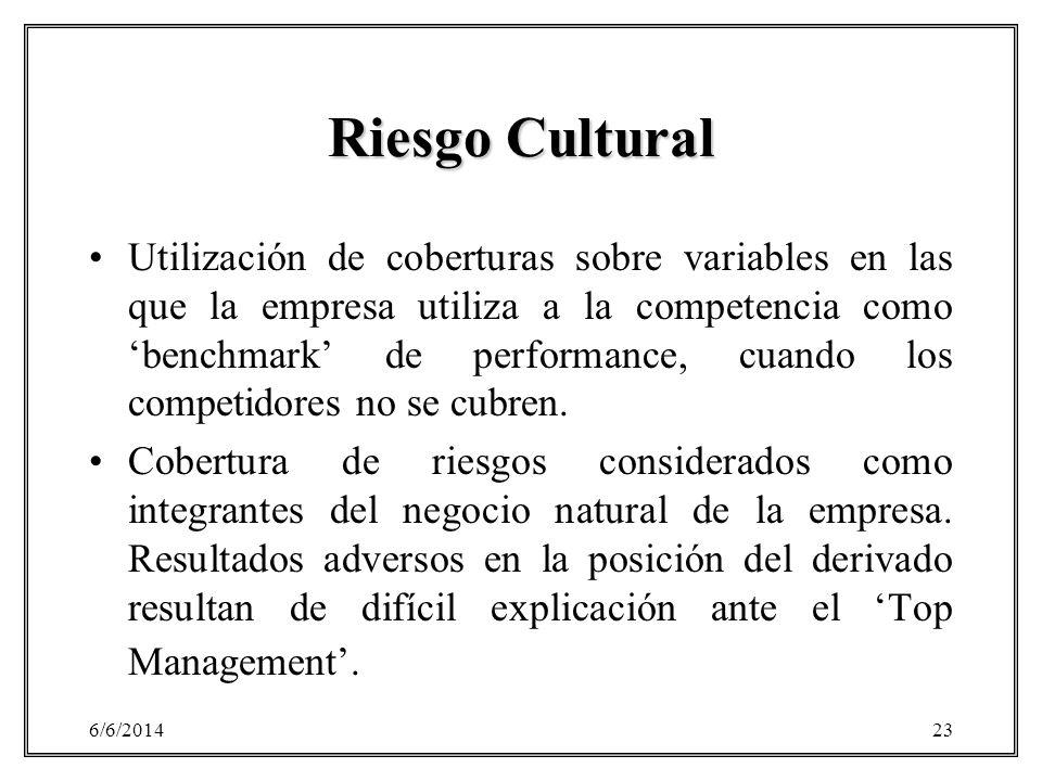 Riesgo Cultural