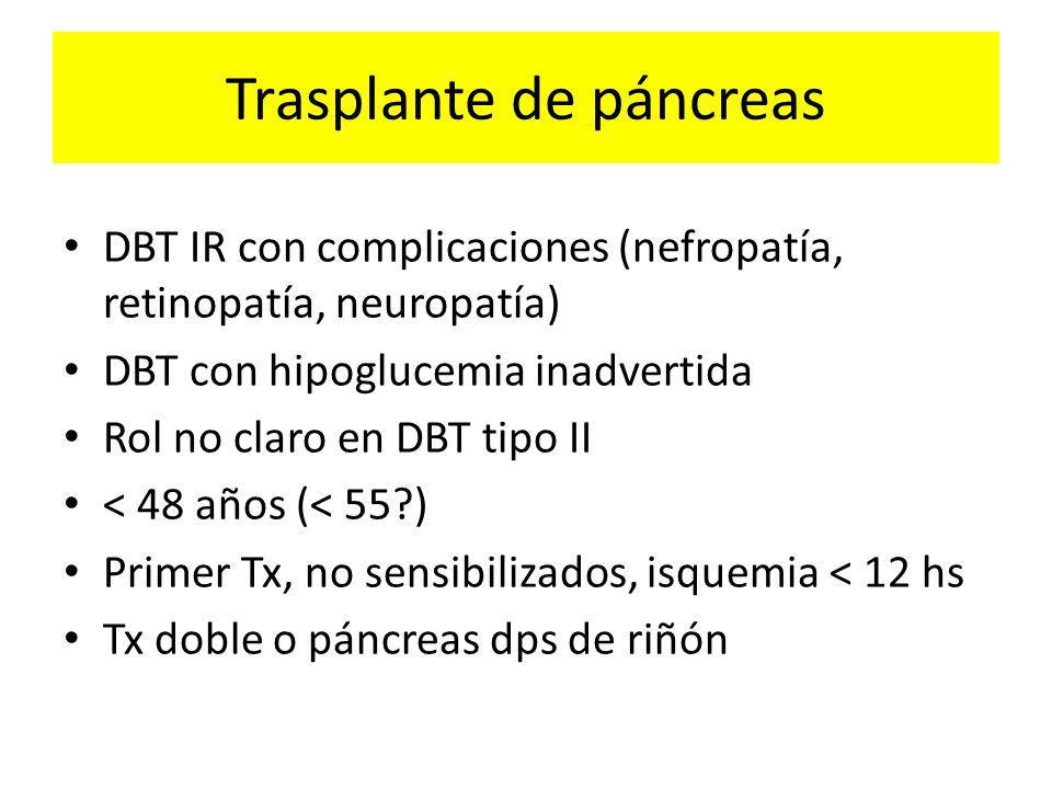 Trasplante de páncreas