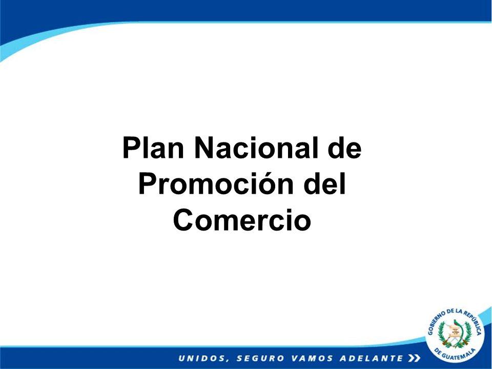 Plan Nacional de Promoción del Comercio