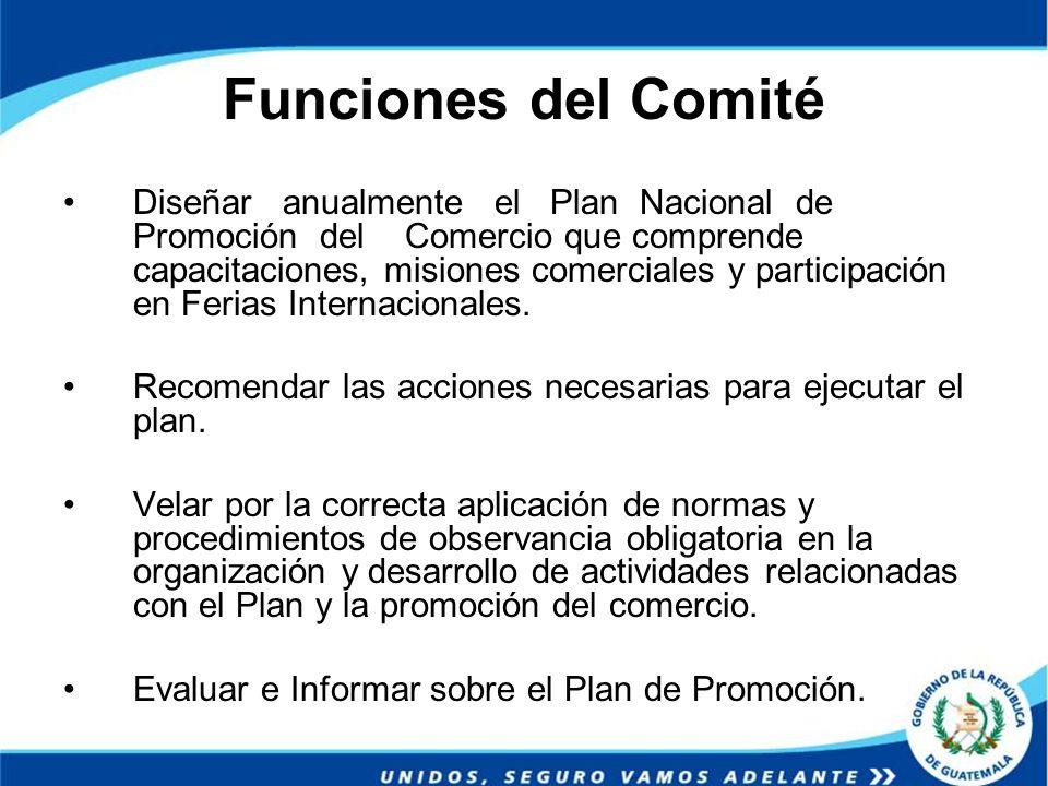 Funciones del Comité