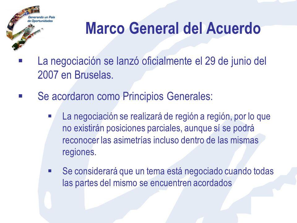 Marco General del Acuerdo