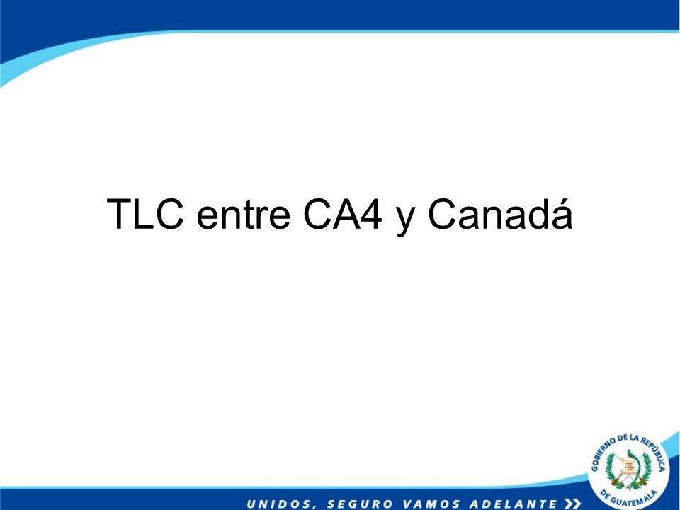 TLC entre CA4 y Canadá