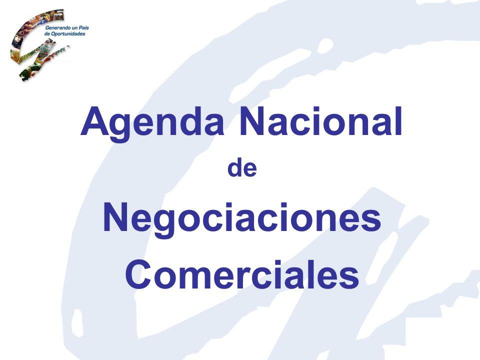 Agenda Nacional Negociaciones Comerciales