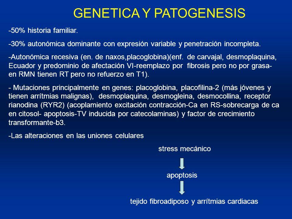 GENETICA Y PATOGENESIS