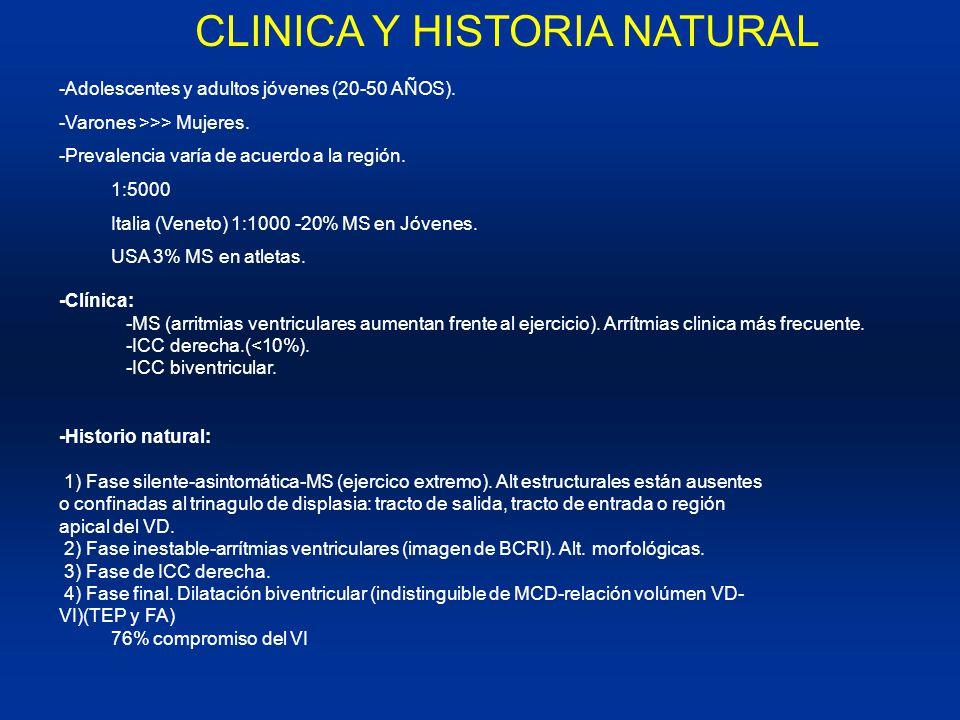 CLINICA Y HISTORIA NATURAL