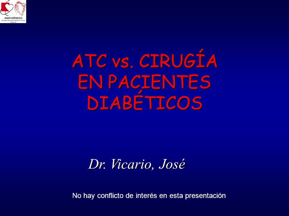 ATC vs. CIRUGÍA EN PACIENTES DIABÉTICOS