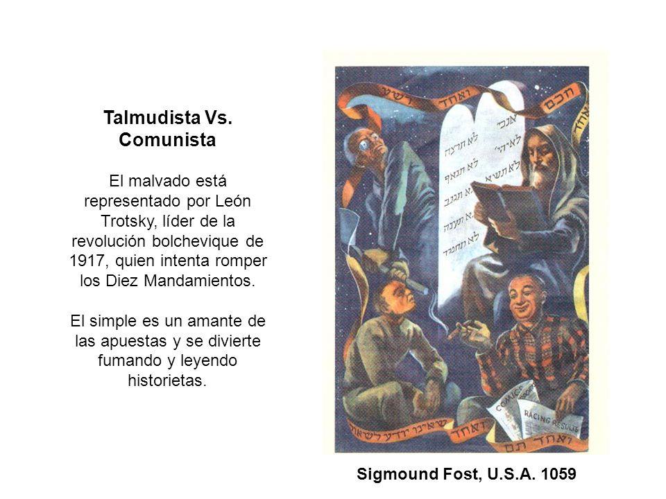 Talmudista Vs. Comunista