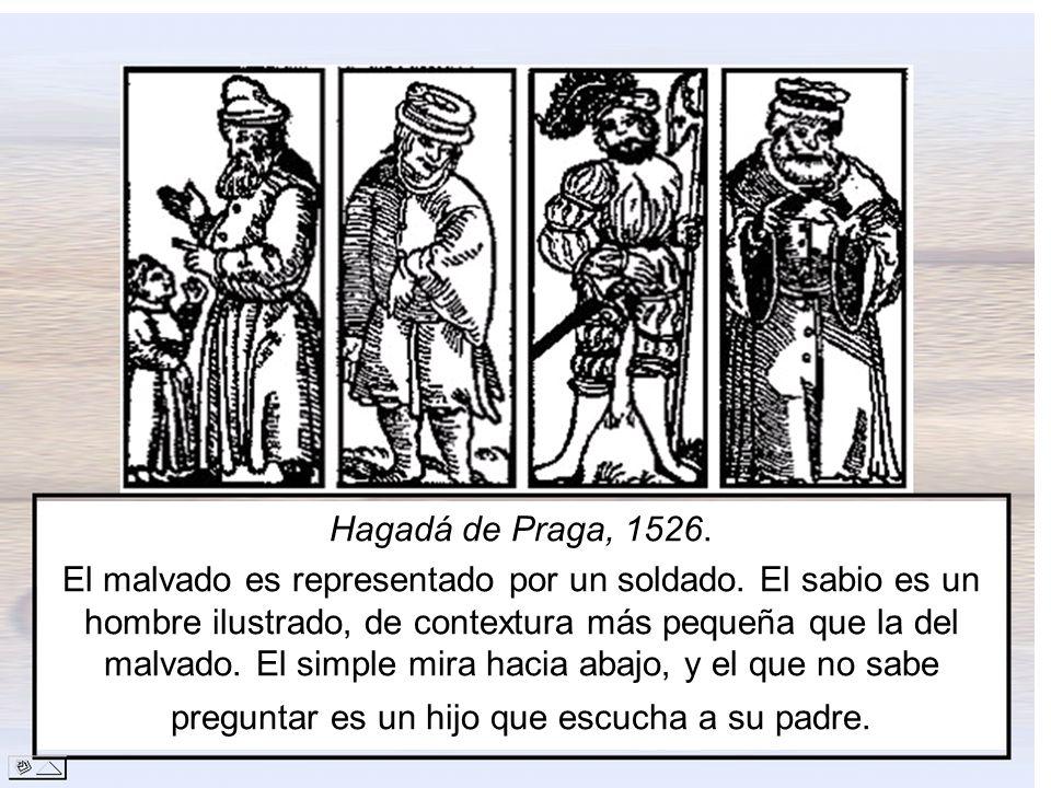 Hagadá de Praga, 1526.