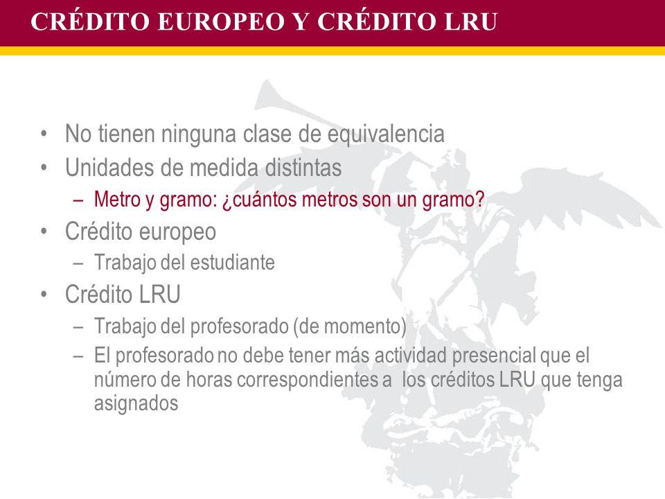 CRÉDITO EUROPEO Y CRÉDITO LRU