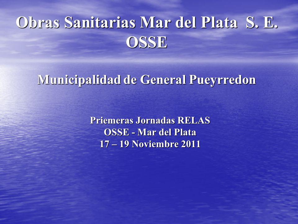 Priemeras Jornadas RELAS OSSE - Mar del Plata 17 – 19 Noviembre 2011