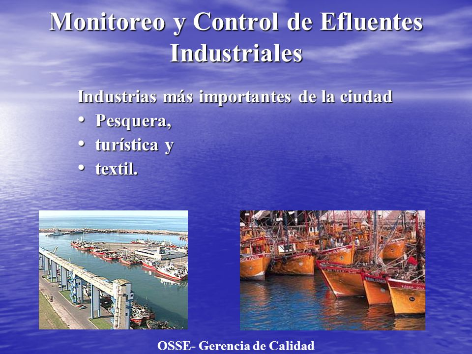 Monitoreo y Control de Efluentes Industriales