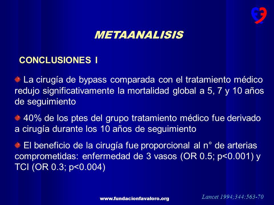 METAANALISIS CONCLUSIONES I