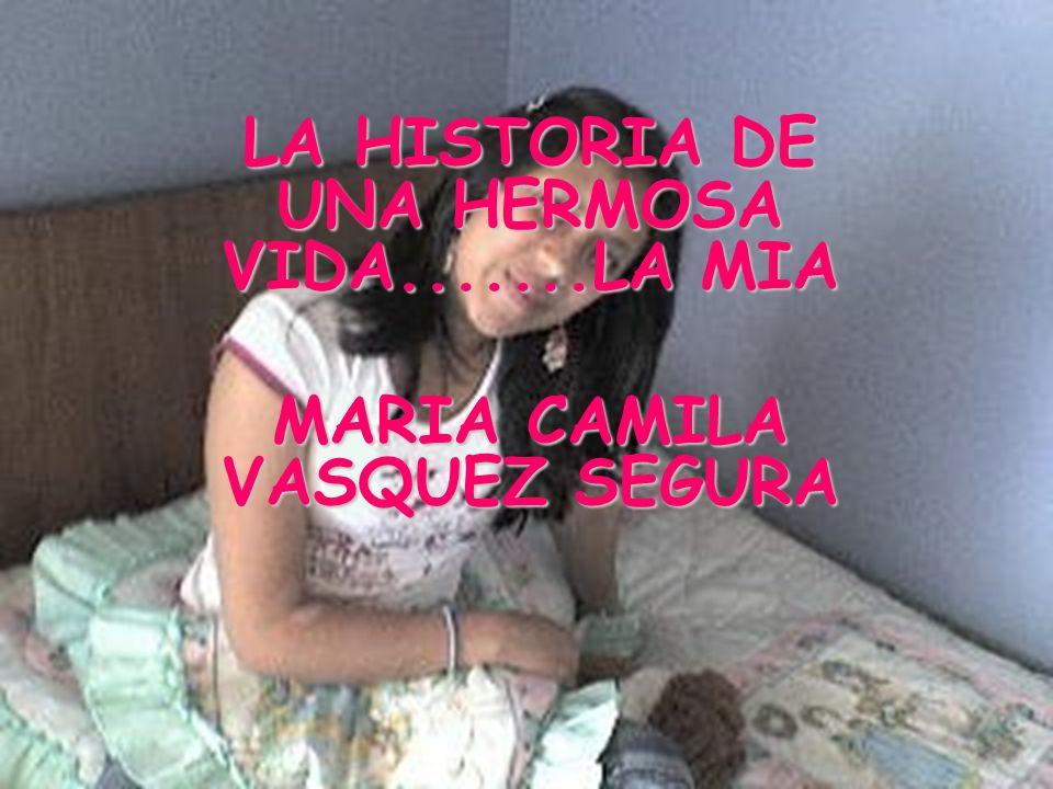 LA HISTORIA DE UNA HERMOSA VIDA.......LA MIA