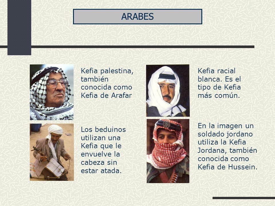 ARABES Kefia palestina, también conocida como Kefia de Arafar