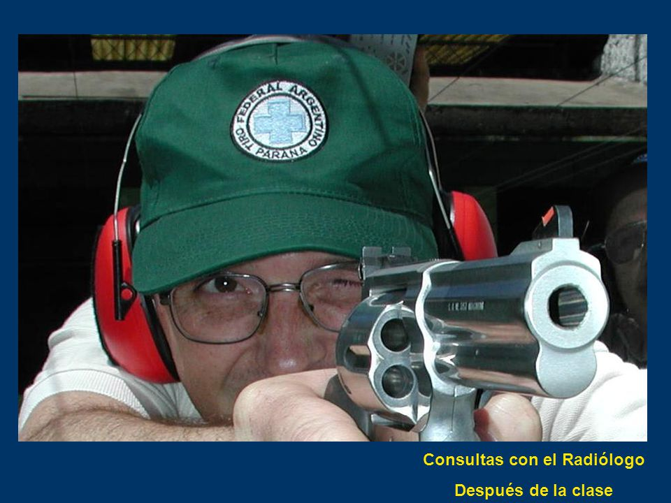 Consultas con el Radiólogo