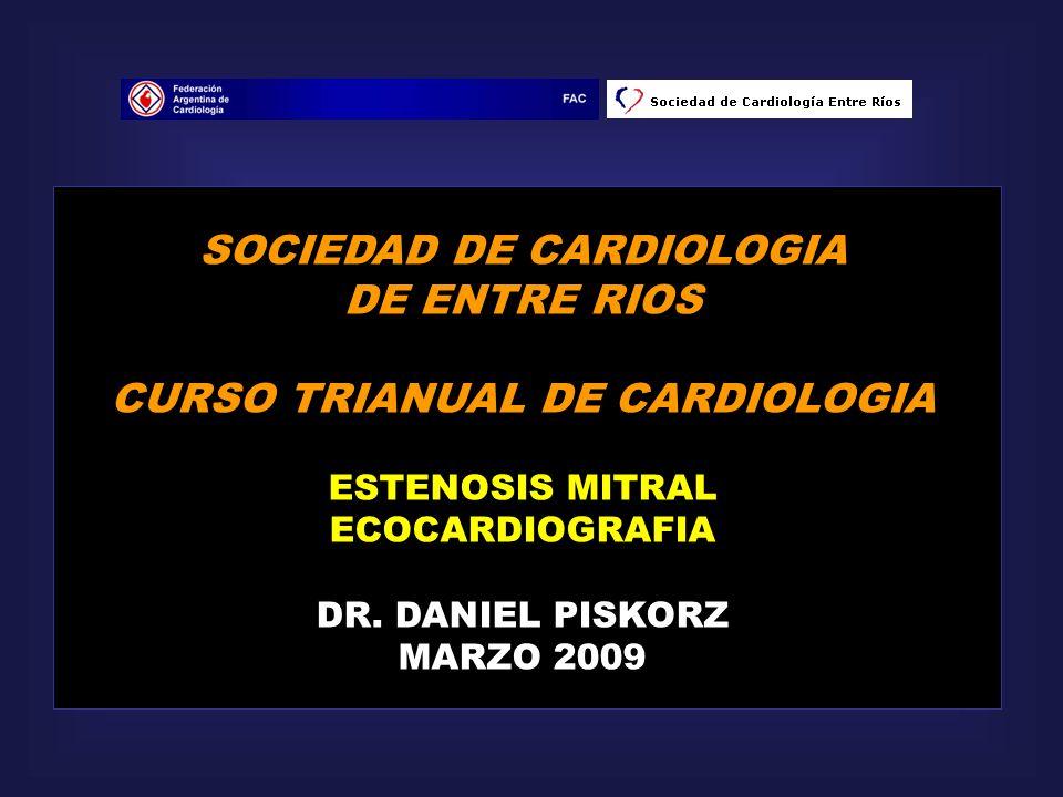 SOCIEDAD DE CARDIOLOGIA CURSO TRIANUAL DE CARDIOLOGIA