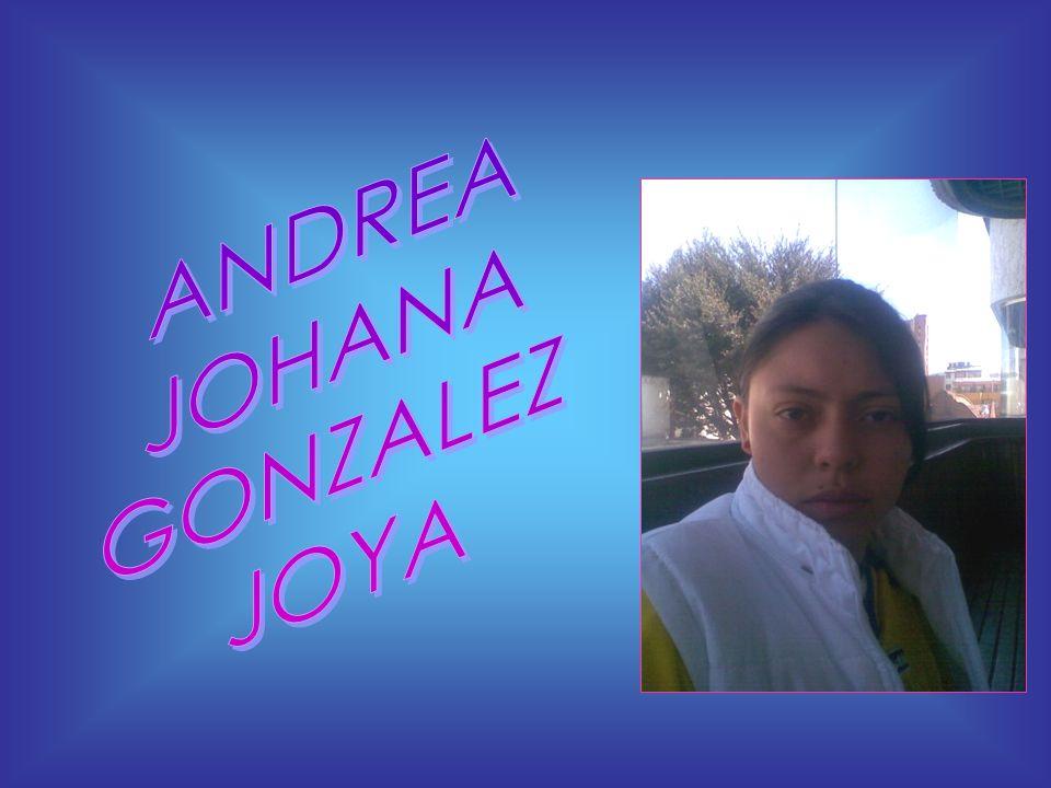 ANDREA JOHANA GONZALEZ JOYA