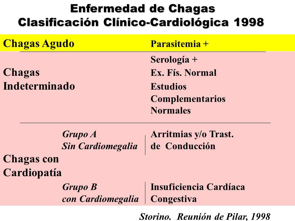 Clasificación Clínico-Cardiológica 1998
