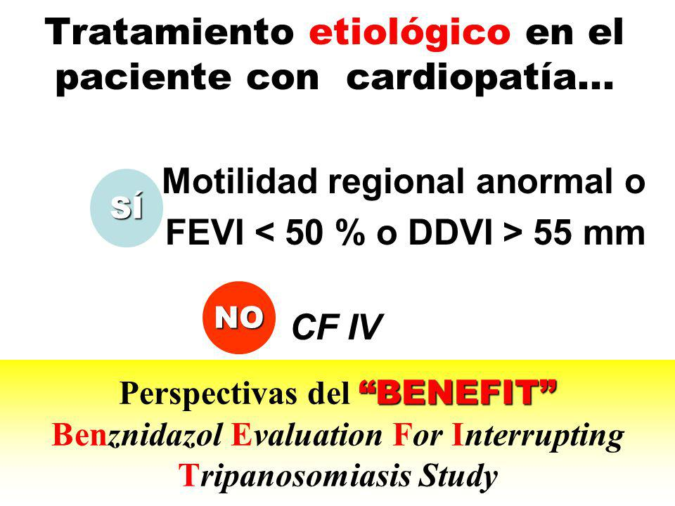 Tratamiento etiológico en el paciente con cardiopatía...
