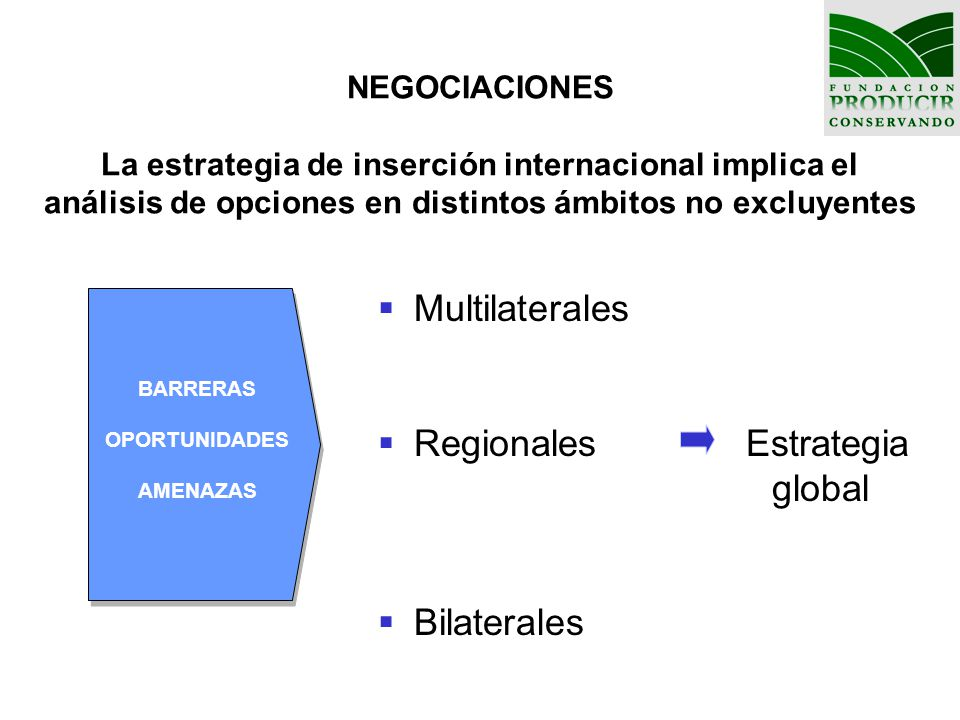 Regionales Estrategia global