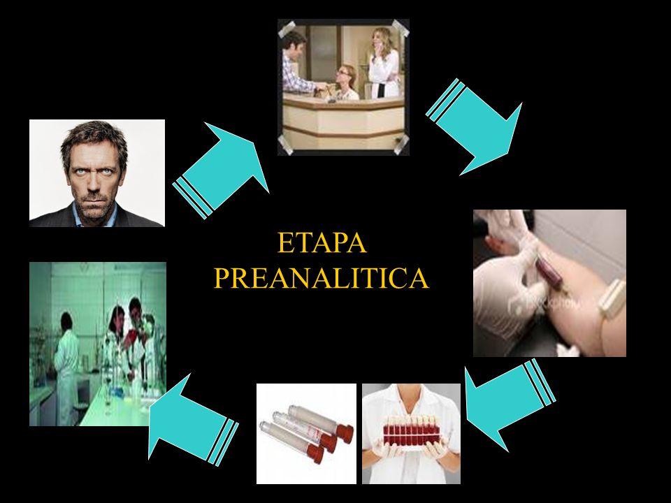 ETAPA PREANALITICA