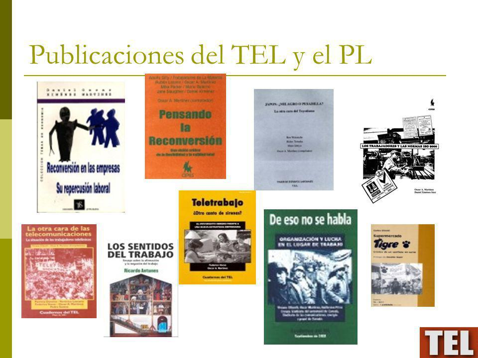 Publicaciones del TEL y el PL