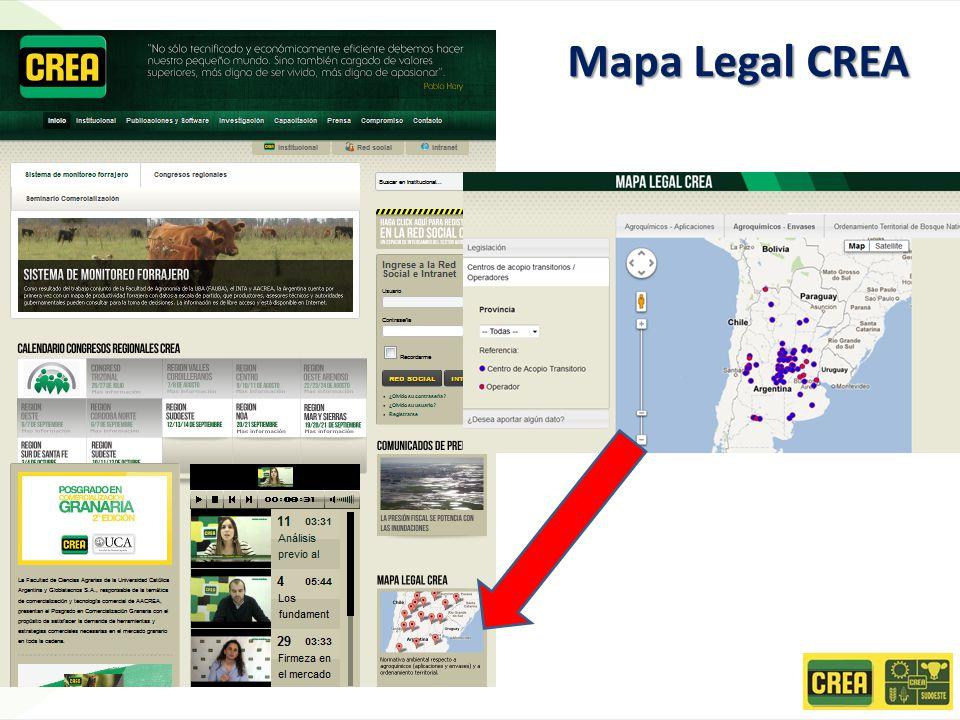 Mapa Legal CREA