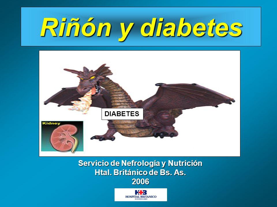 Servicio de Nefrología y Nutrición Htal. Británico de Bs. As. 2006